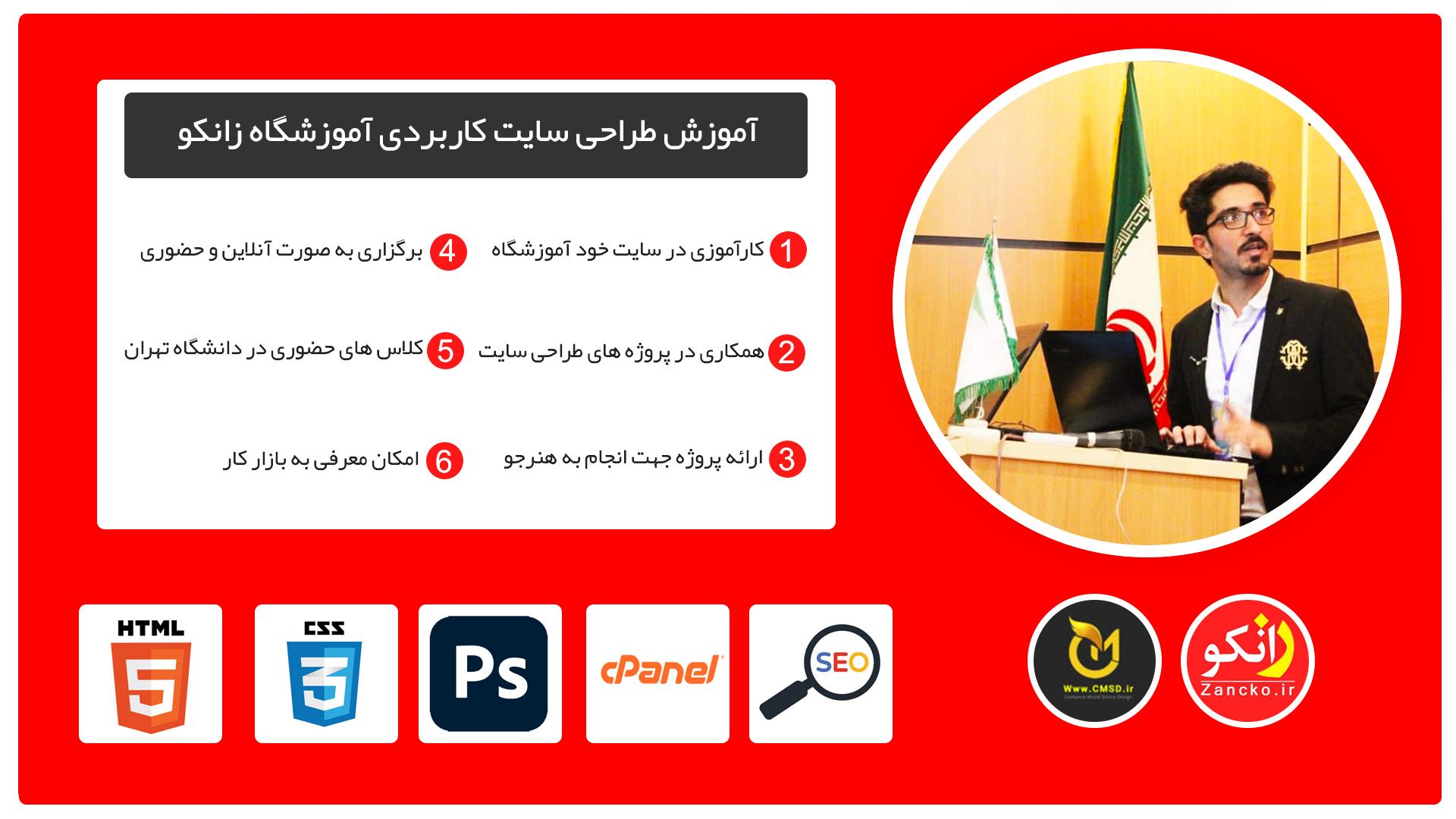 آموزش طراحی سایت ، پکیج آموزش طراحی سایت با وردپرس ، کاملترین دوره طراحی سایت ایران
